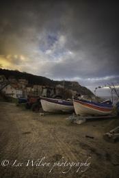 Runswick bay boat yard