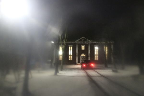 Winter passage by Zenonas