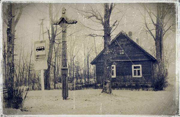 Bus stop by Zenonas