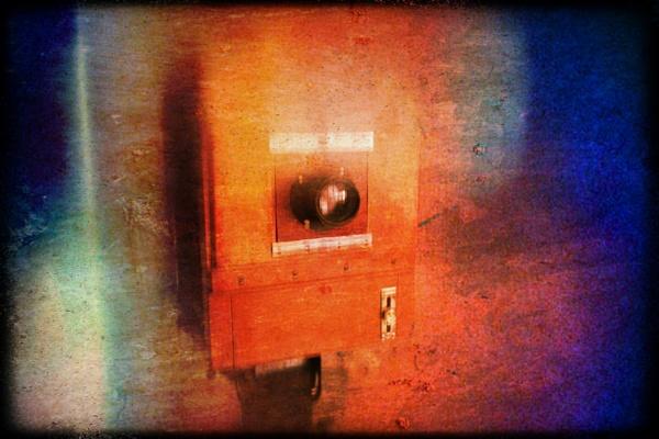 Old camera by Zenonas