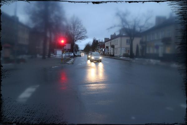 Red light by Zenonas