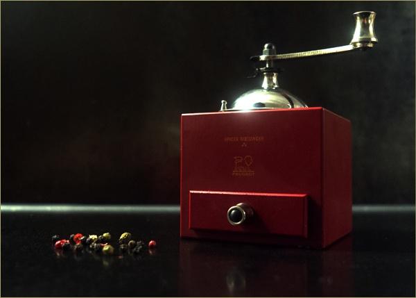 Peugeot Olivier Roellinger 5.25 Inch Pepper Mill by bliba