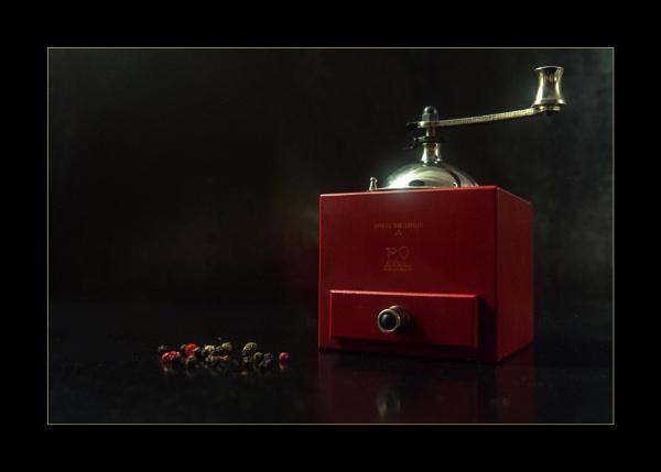 Peugeot Olivier Roellinger 5.25 Inch Pepper Mill (reworked) by bliba