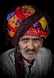 the old man & his turban