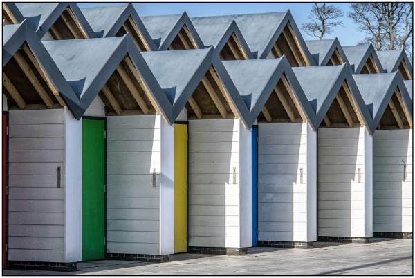 Beach Huts by TrevBatWCC