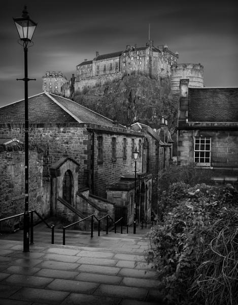 Edinburgh Castle by billycurriephotography