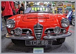 Full Frontal Italian Model