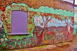 Trees on walls...