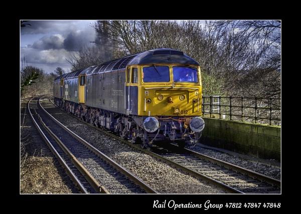British Rail Class 47 by Paulmayo21