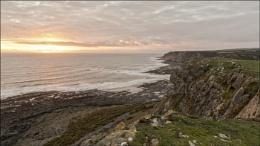 Sunset Port Eynon