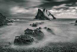 Misty rocks 2