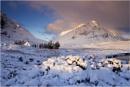 Snowy Sunrise by jeanie