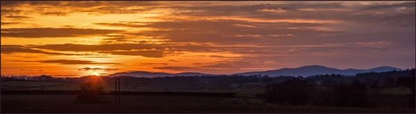 Malvern Hills Sunset by DicksPics