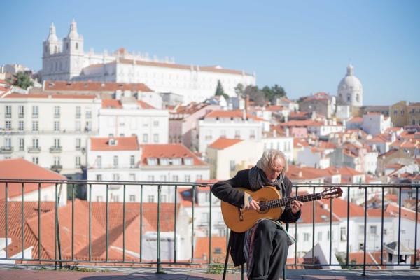 Lisbon landscape by frameit