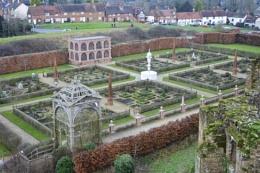Kenilworth Castle Garden.