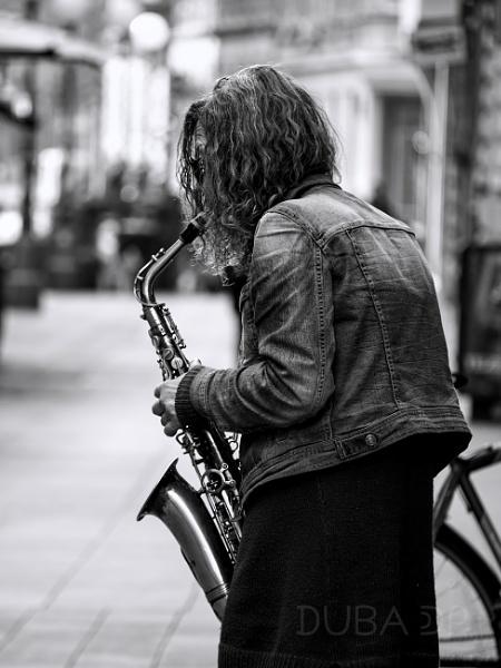 Street & Sax by duba