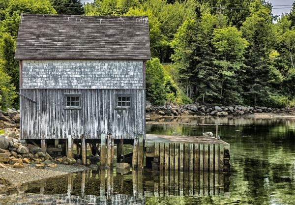 Nova Scotia Cabin by Owdman