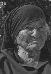 old widow trom Crete