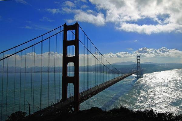 Golden Gate Bridge San Francisco by Janetdinah