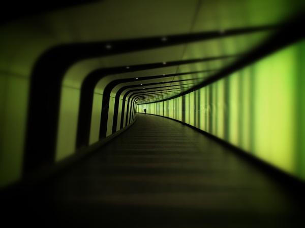 Underground goes green by JanetAS