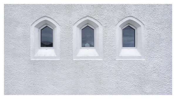 Three windows by JanetAS