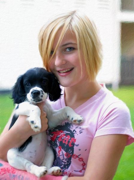 Puppy Love by happysnapperman