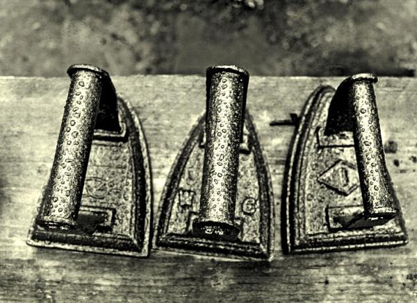 Three flat irons by helenlinda