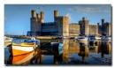 Caernarfon Castle Reflections by jer