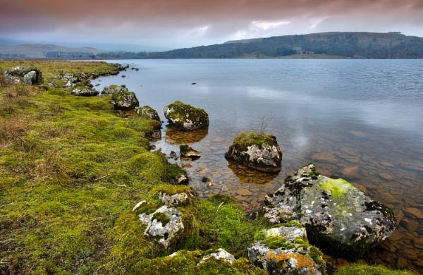 Colour Rocks of Malham Tarn by georgehopkins