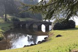 Stourhead's iconic bridge again.