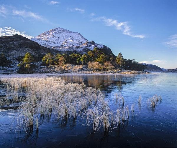 Winter Blues Loch Clair by hwatt