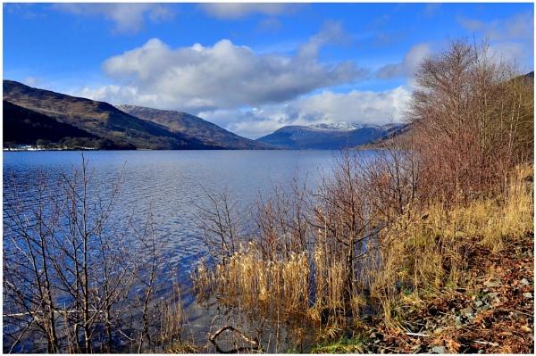 "\""Winter Sun on Loch Earn\"" by RonnieAG"
