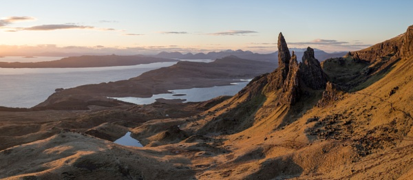 Old Man of Storr Sunrise by jamesgrant