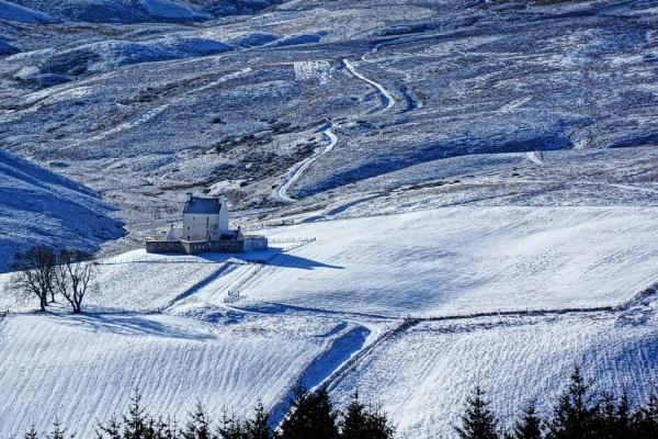 Corgaff Castle. by macprints