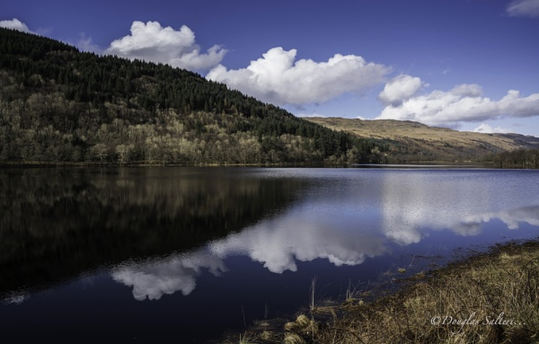 Clouds in Dubh Loch... by Scottishlandscapes
