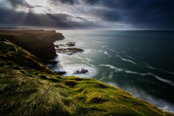 Sun and Shadows on the coast by PMWilliams
