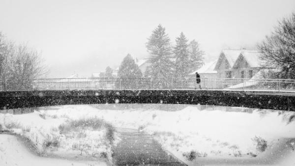Winter in the city XXXII by MileJanjic