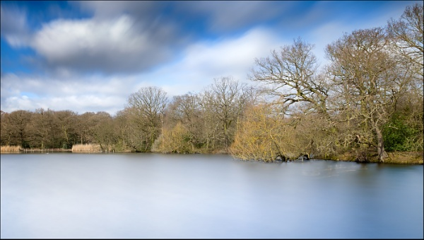 Connaught Water Long Exposure - colour by Les_Cornwell