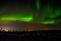 Northern Lights of Alberta Canada