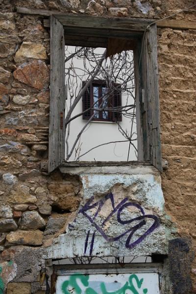 A WINDOW THROUGH A WINDOW