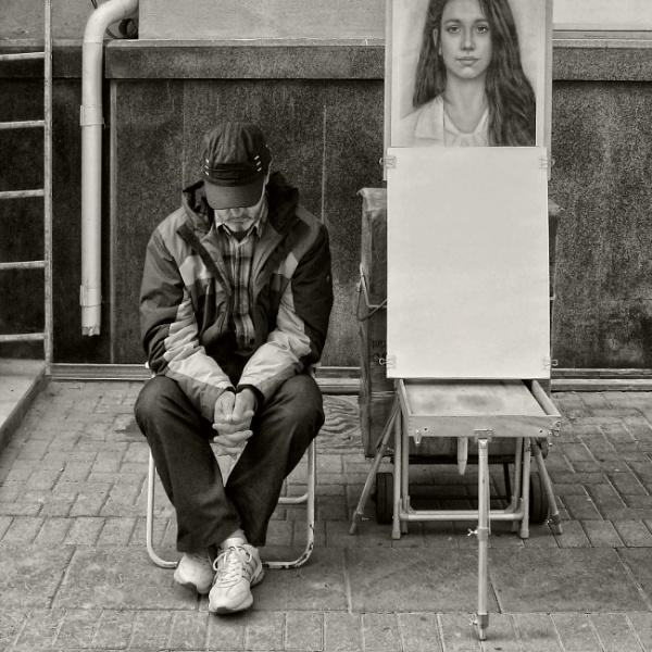 street artist by leo_nid