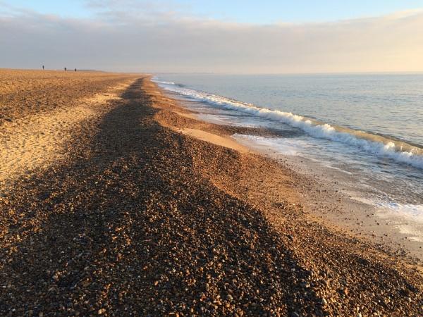 Dunwich Beach Suffolk by ryalux41