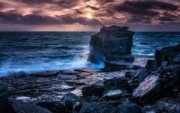 Sunset at Pulpit Rock.