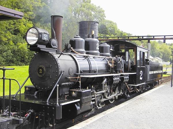 Baldwin No 2 Brecon Mountain Railway by KeithOT