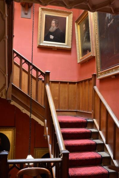 Staircase at Hughenden by peterthowe