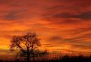 Sunset over Derbyshire by tigertot