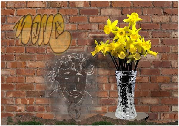 Blooming Graffiti by Otinkyad