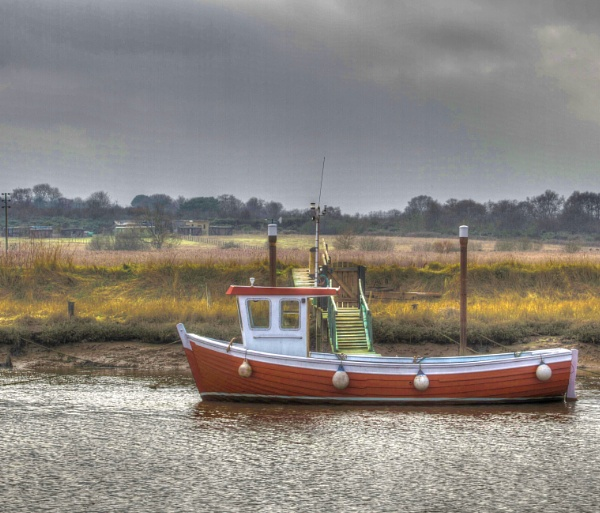 Boat at Southwold by Nigel61