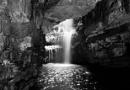 North Scotland Cave Waterfall by joshwa