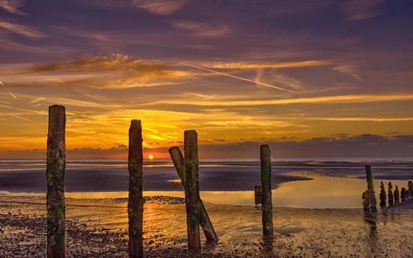 A Beach at SunRise by Pwenham